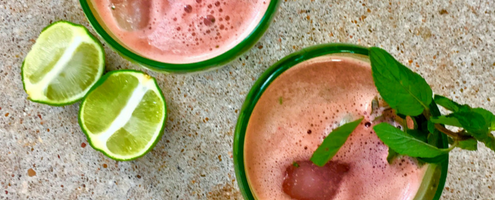 Watermelon Collagen Cooler